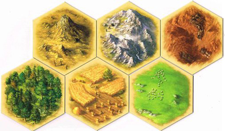hexagonos catan