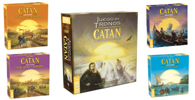 Mejores expansiones de Catan