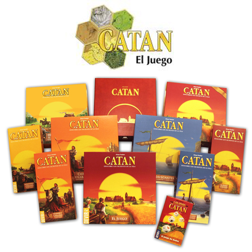 Todas las versiones de catan